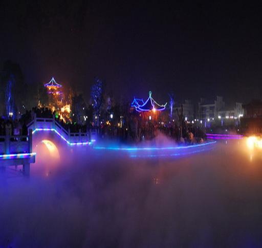 紫阳公园夜景